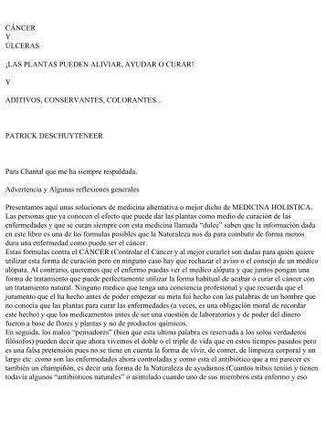 CÁNCER Y ÚLCERAS - Cosmopolitan University 2