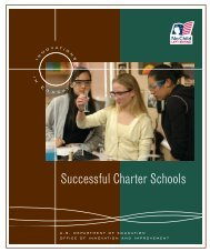 Innovations in Education: Successful Charter Schools (PDF) - InfoUSA