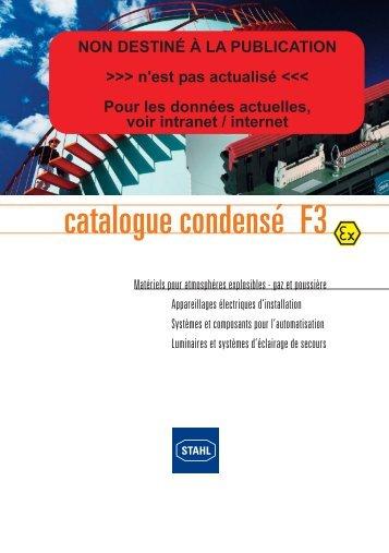 catalogue condensé F3 - ST Solutions ATEX