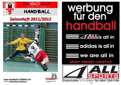 Saisonheft 2011/2012 - TV 1860 Lich