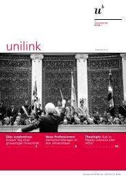 unilink - Abteilung Kommunikation - Universität Bern