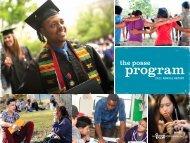 Posse's 2011 Annual Report - The Posse Foundation