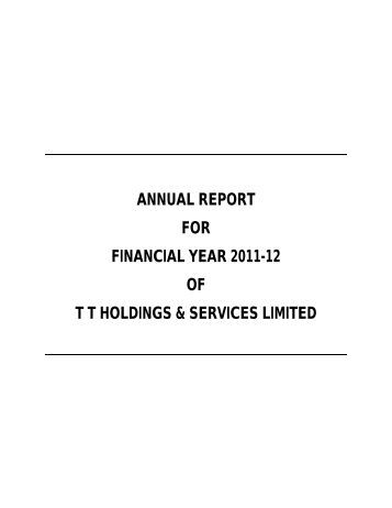 Tata capital forex limited annual report