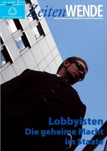 Lobbyisten - Mensch Umwelt Tierschutz
