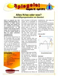 Alles Krise oder was? - Siemens Dialog - IG Metall