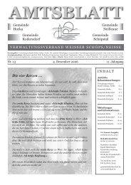 Ausgabe Nr. 13 vom 4. Dezember 2006 - Gemeinde Kodersdorf