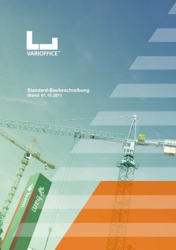Standard Baubeschreibung 01.10.2011 - varioffice