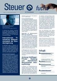 Internationale Fi- nanzkrise - Maßnah- menpaket der Bun - Pirklbauer