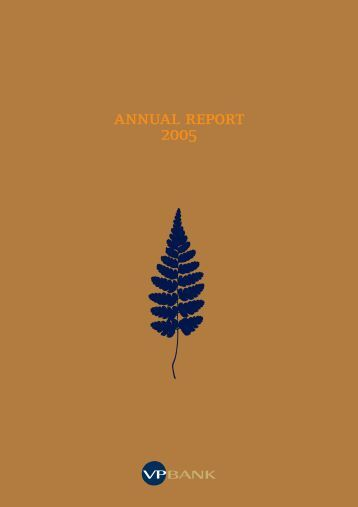 Annual Report 2005 Group - VP Bank