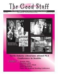 Librarian of the Year Award - North Dakota Library Association