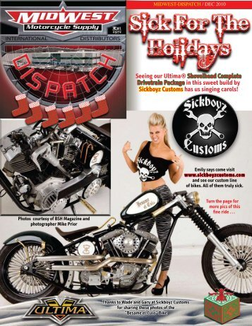 Seeing our Ultima® Shovelhead Complete Drivetrain Package in ...