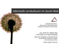 informelles Lernen - Medien | pädagogik | didaktik | bildung