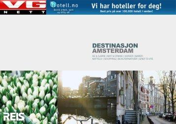 DESTINASJON AMSTERDAM - VG