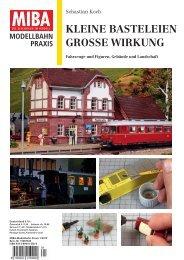 KLEINE BASTELEIEN GROSSE WIRKUNG - Verlagsgruppe Bahn