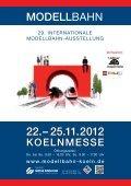 25.11.2012 KOELNMESSE MODELLBAHN www.modellbahn-koeln ... - Seite 2