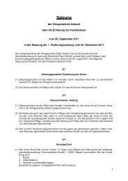 Satzung - VG Asbach