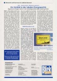 Pressebericht Mai 2010 - SolarLokal in der VG Asbach