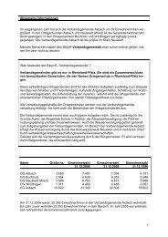 Verwaltungsbericht 2006 - VG Asbach