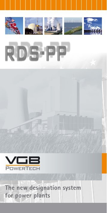 The way from KKS to - VGB PowerTech