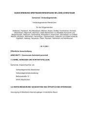 Anlage 1 zur Ausschreibung Breitbanderschließung der ...