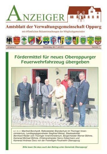 gemeinde langenorla - VG Oppurg