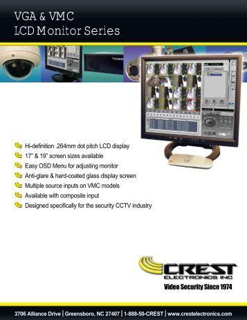 VGA & VMC LCD Monitor Series