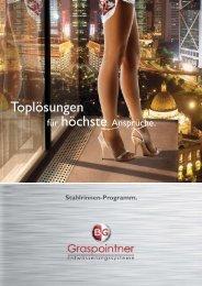 Stahlrinnen-Programm. - BG Graspointner GmbH & Co KG