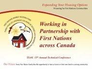 First Nations Housing Market Fund - Deborah Taylor