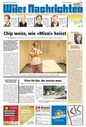 Samstag 17. November 2012 Zeit: 09.00 - 16.00 ... - Aktuelle Ausgabe