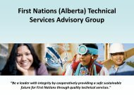 E. coli - Ontario First Nations Technical Services Corporation