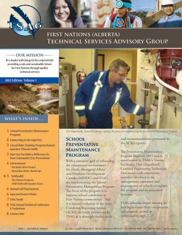 Technical Services Advisory Group - First Nations (Alberta ...