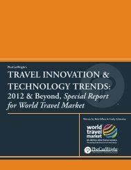 travel innovation & technology trends - World Travel Market