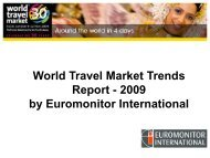 World Travel Market Trends Report - 2009 by ... - Slovenia