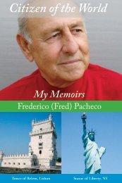 My Memoirs - Citizen of the World