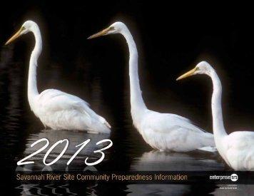 Community Preparedness Information - Savannah River Site