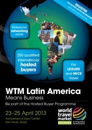 WtM Latin America - World Travel Market Latin America