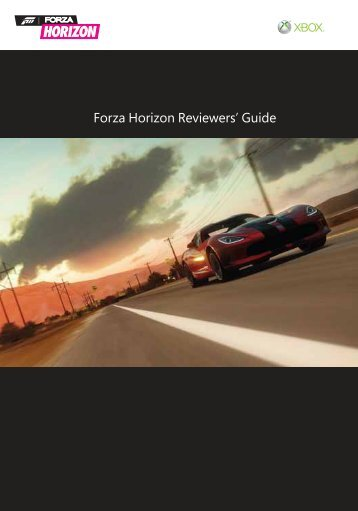 Forza Guide - Forza Horizon