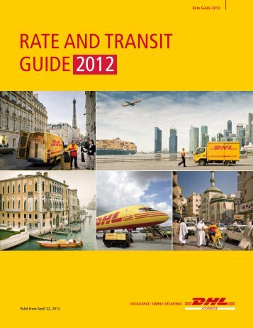 DHL Express Rate and Transit Guide 2012