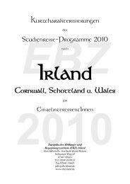 Irland Cornwall, Schottland U. Wales - Irish-net