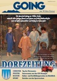 (5,46 MB) - .PDF - Going am wilden Kaiser - Land Tirol