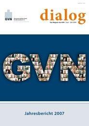 Jahresbericht 2007 - Genossenschaftsverband eV