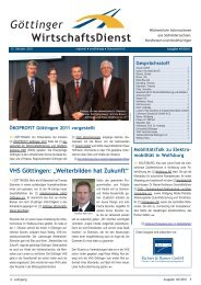 """VHS Göttingen: """"Weiterbilden hat Zukunft"""" - LMC Logistik ..."""