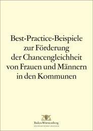 Best-Practice-Beispiele zur Förderung der ... - Stadt Heidelberg