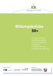 50+ Bildungsbrücke - Bonner Fachtagung