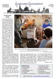 Greifswalder Gemeindebrief: Oktober/November 2012 (3,1 MB