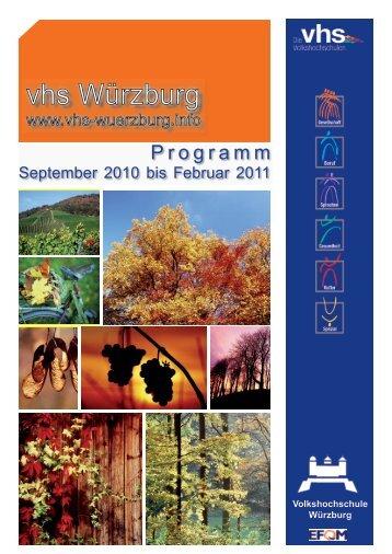 Inhalts - VHS Würzburg