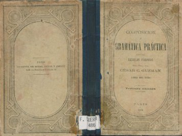 GRAMÁTICA PRAcTICA - Biblioteca Nacional