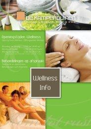 Tijd voor u zelf! - Wellness Hotel De Kamperduinen