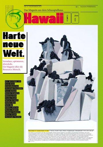 Das Magazin aus dem Schauspielhaus. - Kulturserver Hamburg