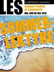 Sommerens store leseopplevelser! - Cappelen Damm